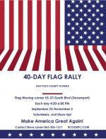 40 Day Flag Rally