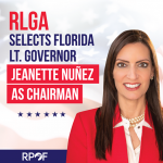 Florida Lieutenant Governor Jeanette Nuñez elected as the Republican Lieutenant Governors Association's Committee's Chairman