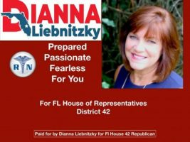 DIANNA LIEBNITZKY – CANDIDATE TO REPRESENT FLORIDA HOUSE REPRESENTATIVE DISTRICT 42